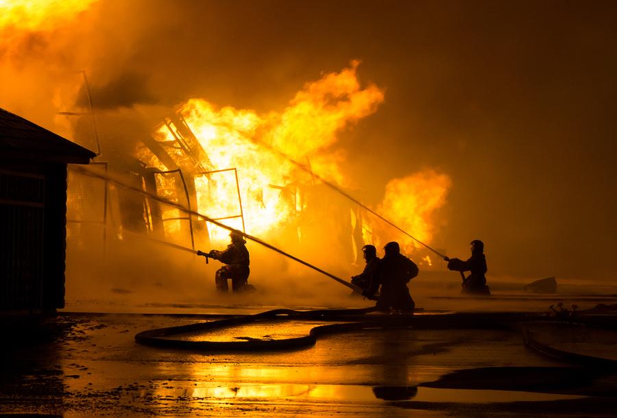 Unter anderem kann die Gebäudeversicherung bei Brandschaden in Kraft treten.